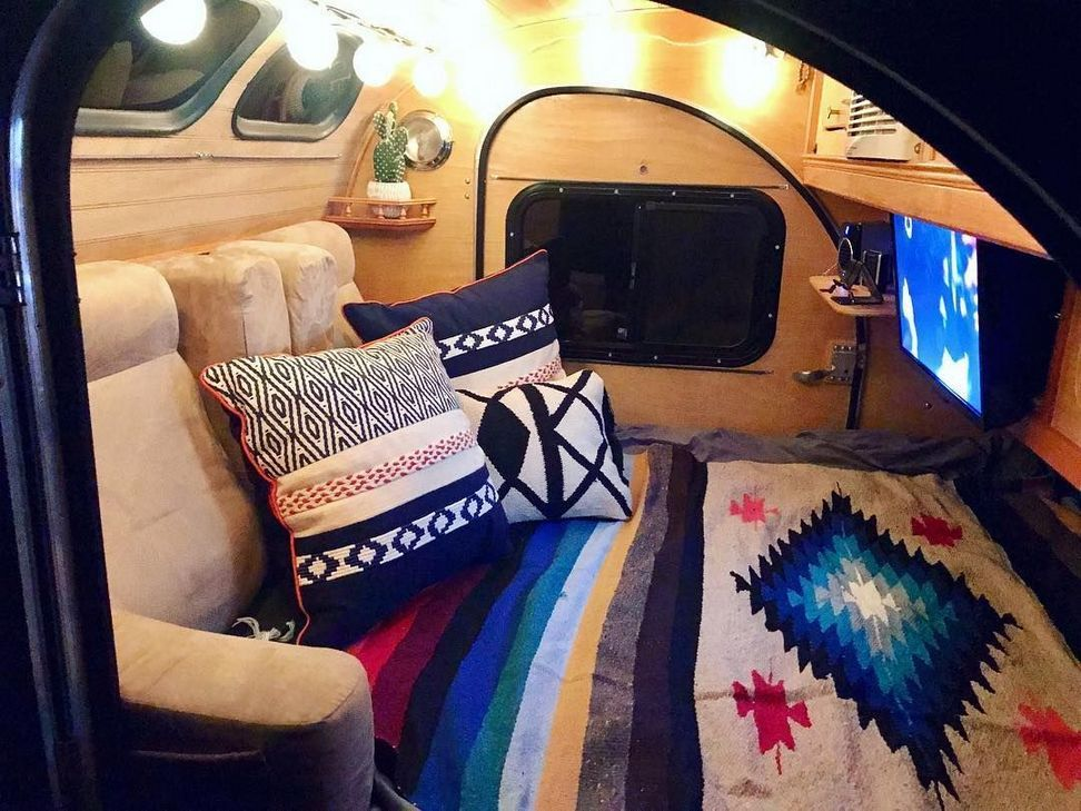 Teardrop Trailer Interior Ideas 41 Teardrop Trailer Interior