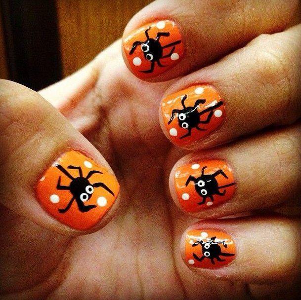 Halloween Nail Art - Halloween Nail Art Halloween Pumpkin Designs Pinterest