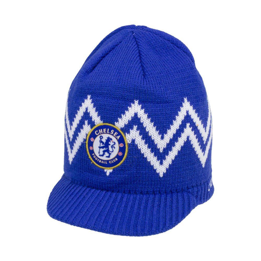 fec25a30f56 Details about Chelsea Beanie Visor Winter New Season cap Hat ...