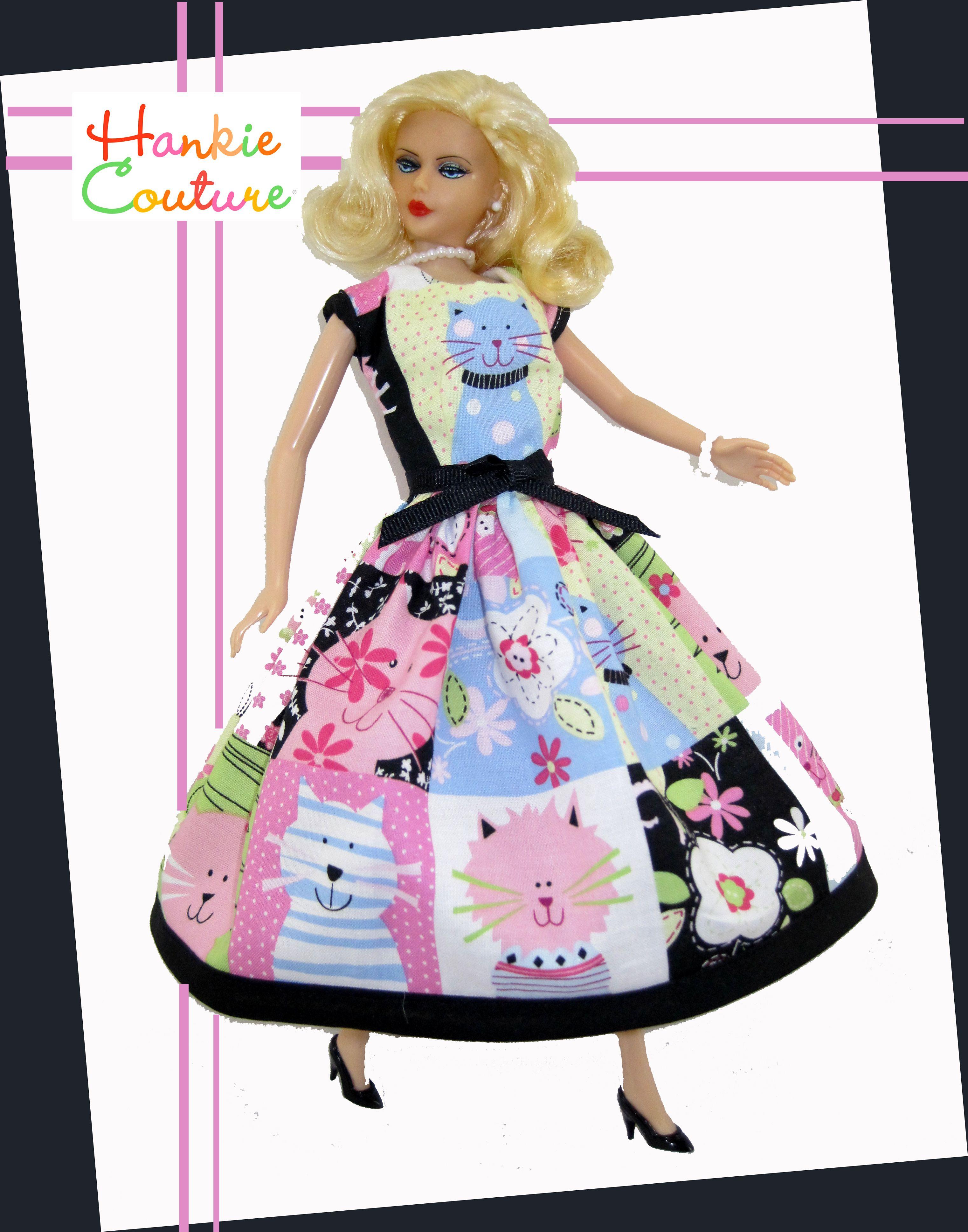 Hankie Couture cat dress!