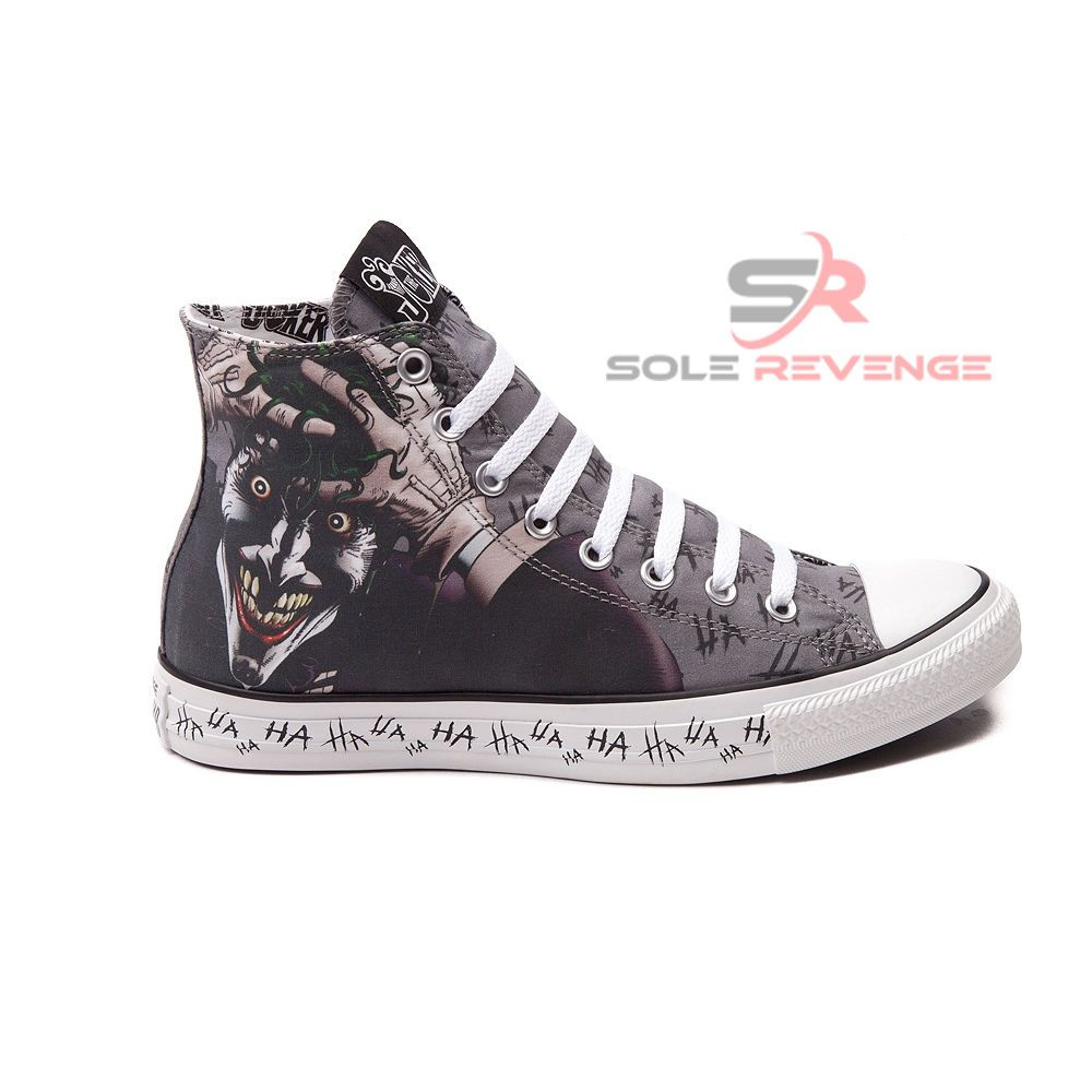 New Converse Mens JOKER HA All Star Chuck Taylor DC Comics Shoes Batman  Superman…
