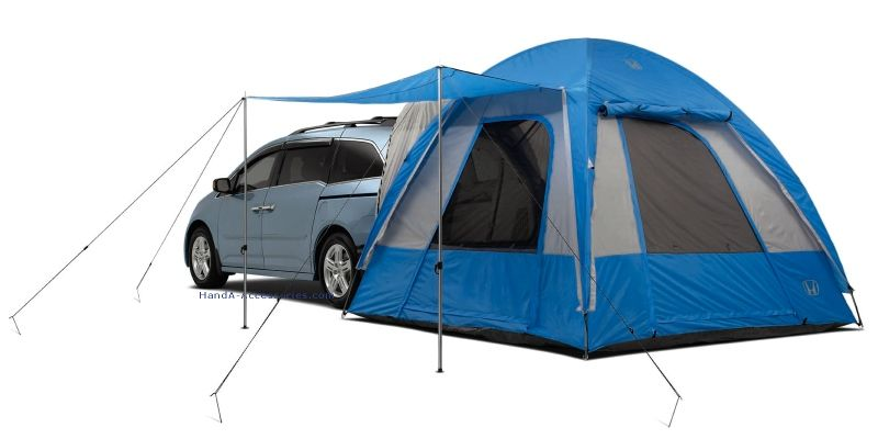 Honda Odyssey with tent  | Conversion Vans are Hot