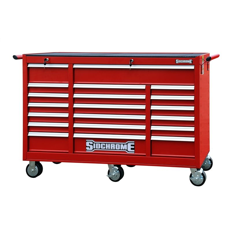 Sidchrome Triple Bank 20 Drawer Tool Trolley | Mechanic
