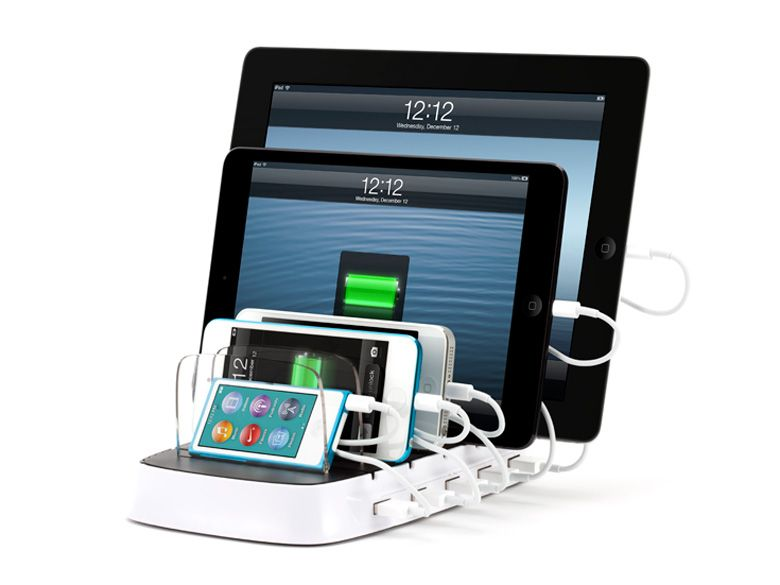 NEW Griffin Ultra Powerful 5-Port Charging Station PowerDock 5 For Apple//Samsung
