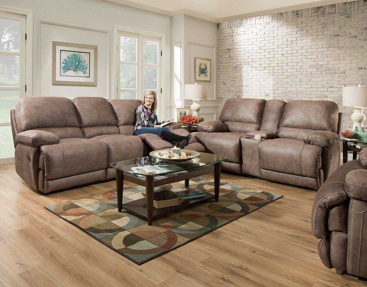 Homestrech Double Reclining Sofa - FFO Home : ffo sectionals - Sectionals, Sofas & Couches