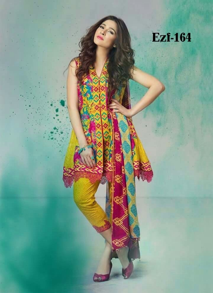 Rewayat By Emaan Z Fashion Introduce Eid Collection 3pc S Embroidered Suit Crinkel Chiffon Dupatta Place Your Or Casual Dresses Pakistani Dresses Dresses