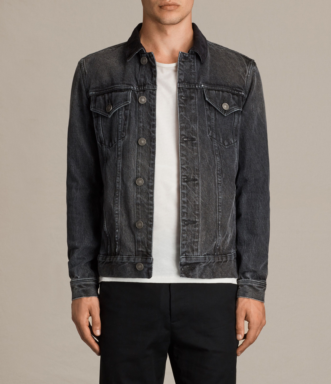 Gravel Denim Jacket Fitted Denim Jacket Denim Jacket Denim Jacket Outfit [ 2900 x 2500 Pixel ]