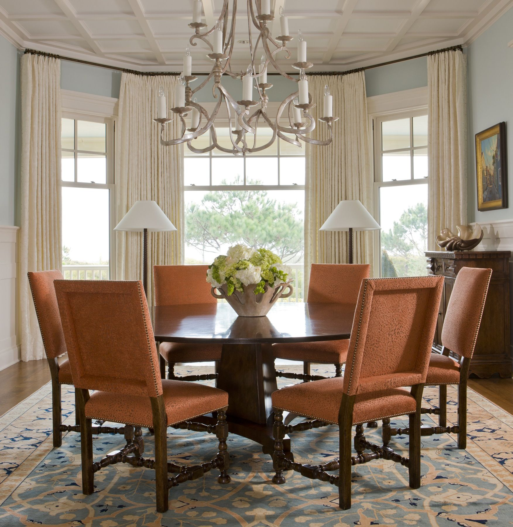Chairish   Dining room window treatments, Dining room windows ...