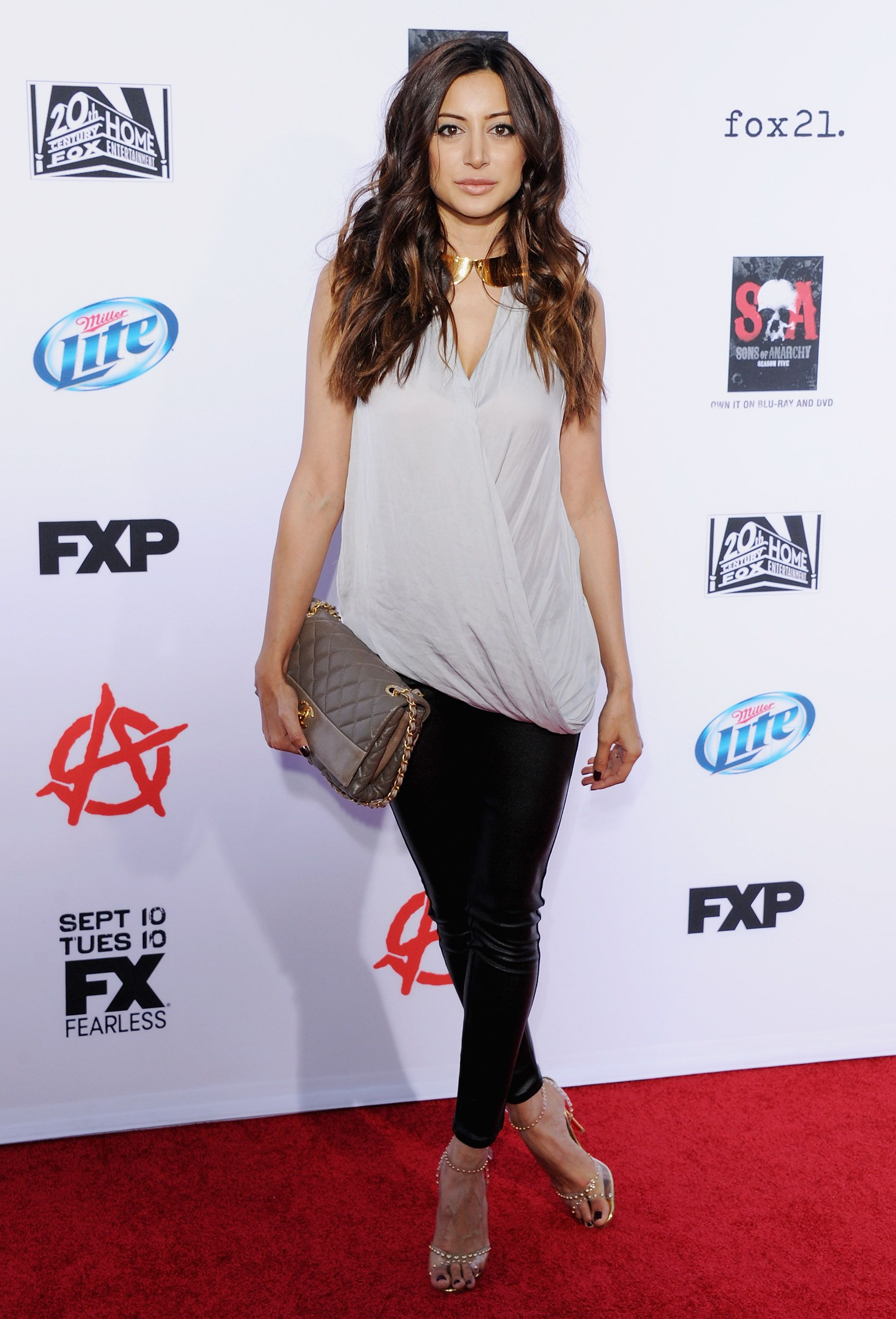 Noureen DeWulf Sons of Anarchy Season 6 premiere