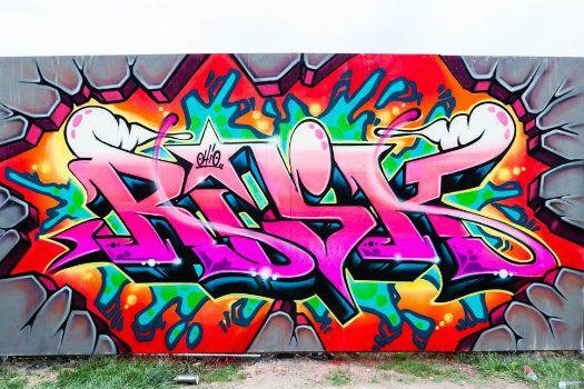 Graffiti Art Words And Paintings
