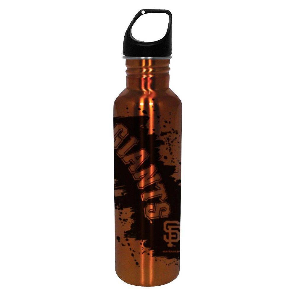 San Francisco Giants Water Bottle - Orange (26 oz.), Orange/Black