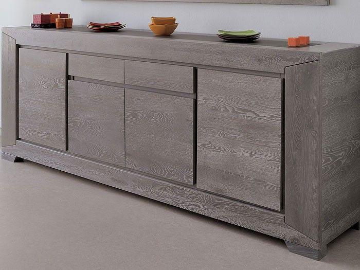 Tolle Sideboard Grau Holz