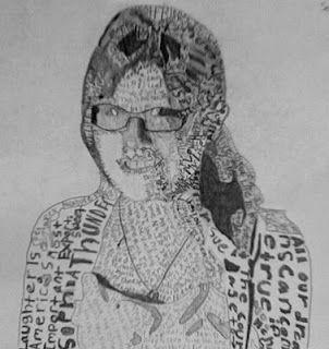DMS ART: 8th Grade Self-Portraits