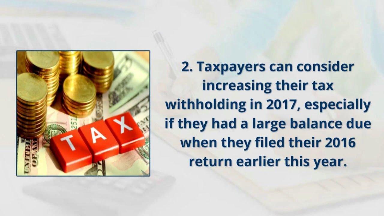 Taxpayers Can In General Increase Their Withholding By Claiming
