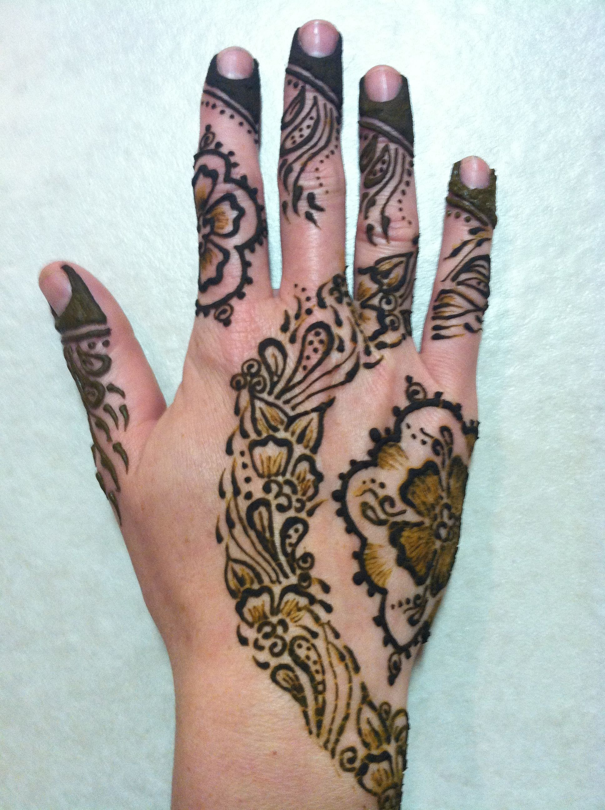 Khaleeji Henna Designs Tattoo: Khaleeji Style Henna With Inspiration From Darcy Of Henna