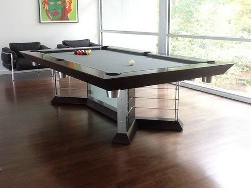 Sensational Minimalist Pool Tables Modern Pool Table Designs Pool Interior Design Ideas Ghosoteloinfo