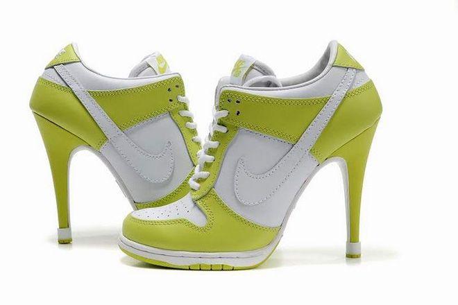 Nike Dunk Sb Heels Low Green White Online