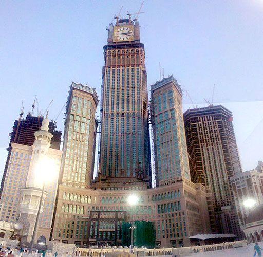 Makkah Royal Clock Tower Hotel Dar Al-Handasah Architects Makkah ...