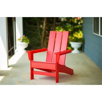 Sensational Breakwater Bay Oakdale Plastic Adirondack Chair Color Andrewgaddart Wooden Chair Designs For Living Room Andrewgaddartcom