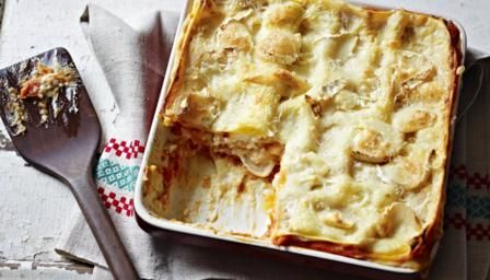 Goats cheese and tomato lasagne recipe bbc good food an easy to a great way to sneak extra veg into the family meal and perfect comfort food to get you through autumn and winter lasagne recipes forumfinder Gallery