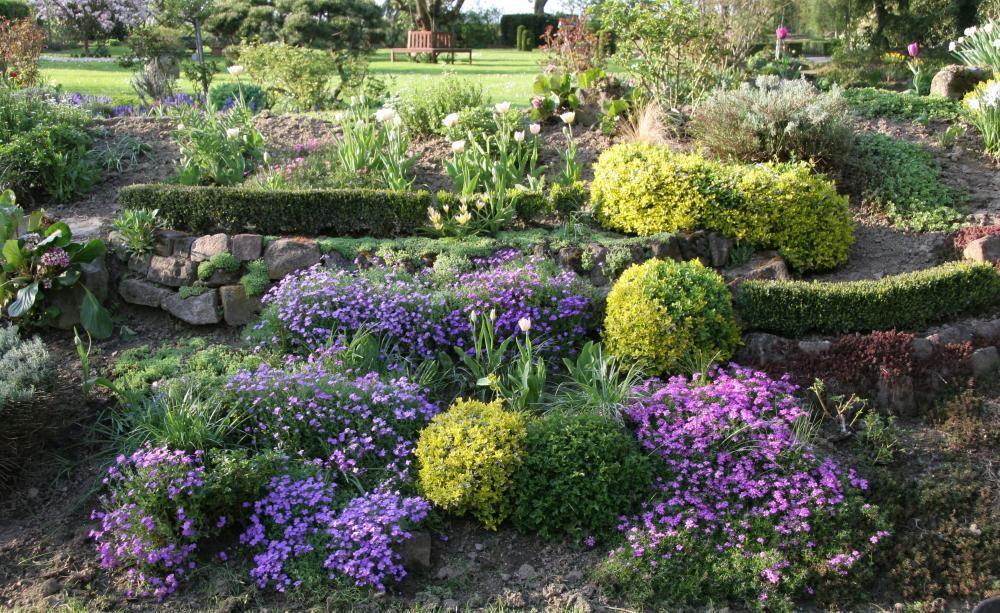 hanggarten - planen, anlegen und tipps | stauden, Terrassen ideen
