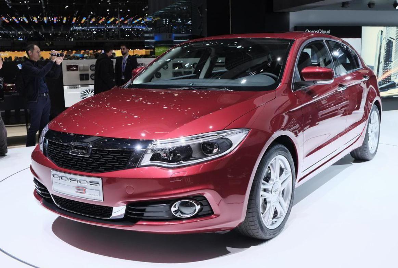3 Hatch Qoros model Model, Car