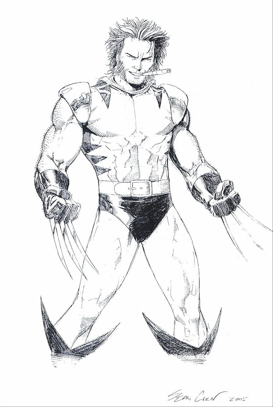 Free Printable Wolverine Coloring Pages For Kids | coloring ...