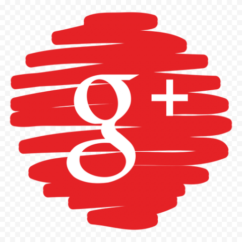 G Google Plus Icon Red Scribble Pen Style Pen Fashion Scribble Pen Scribble