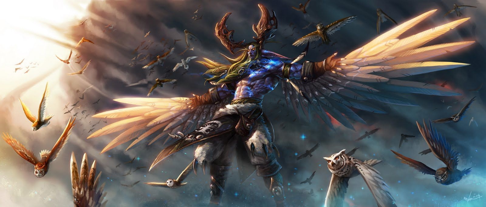 World Of Warcraft Wallpaper Druid Google Search World Of