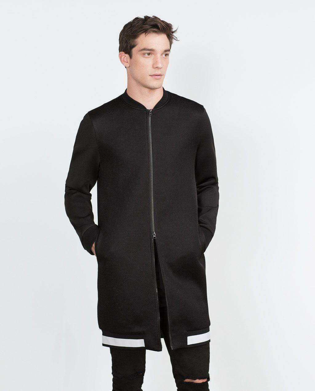 6639b4df27 Veste bombers homme zara - Idée de Costume et vêtement