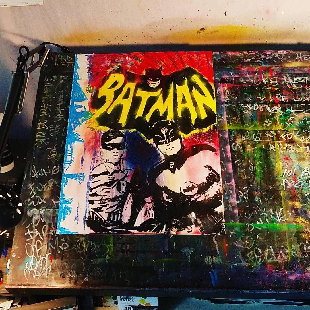 "- Preston Beyer (@prestegous) on Instagram: ""#batman & #robin 🎆🎇✨ #concept #idea of the #afternoon #saturday #adventures Done in: #acrylics ,…"""