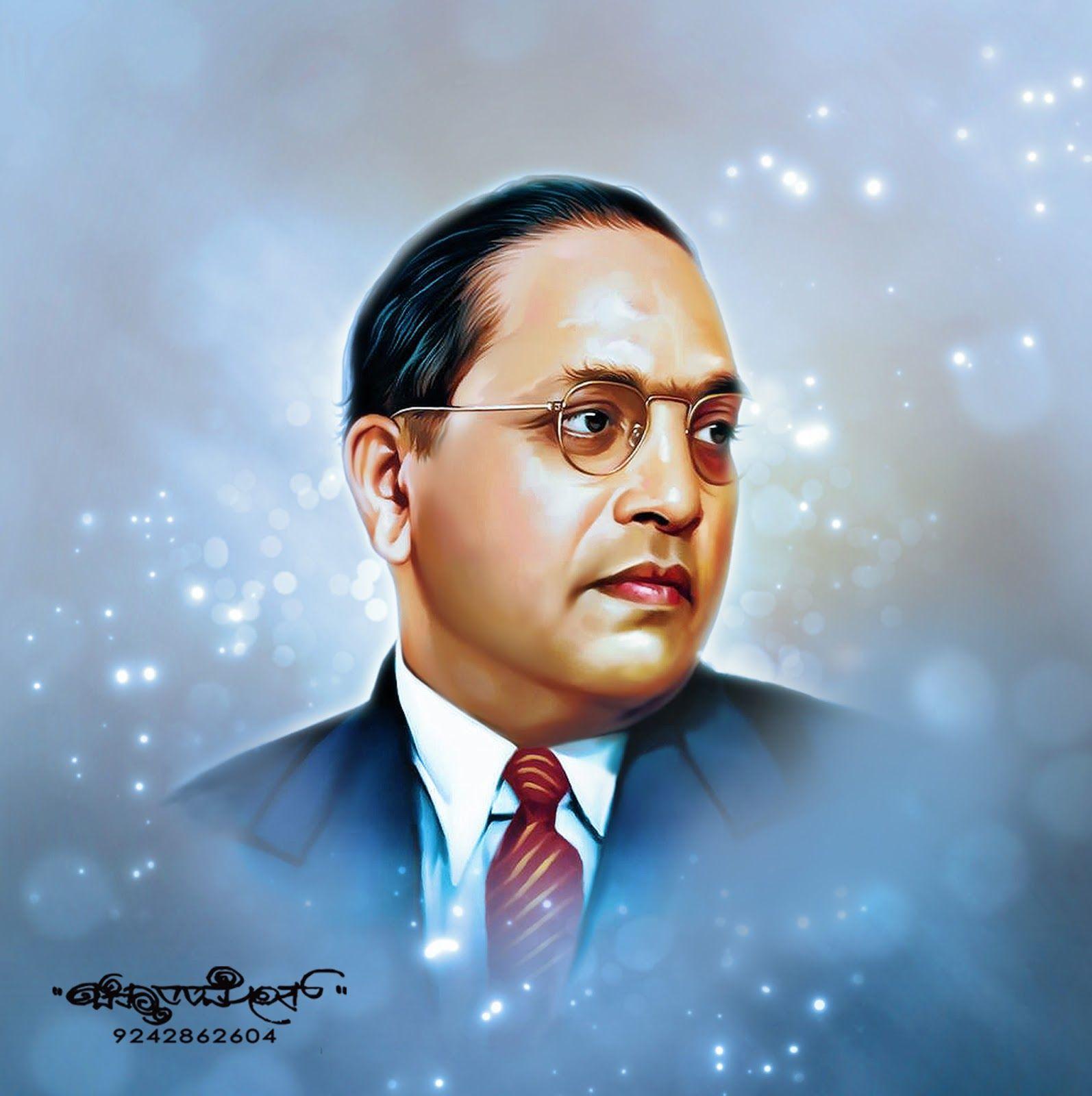 Chitthara Digital Paintings Dr B R Ambedkar Photo Clipart Digital Painting Portrait Photo Frame Gallery