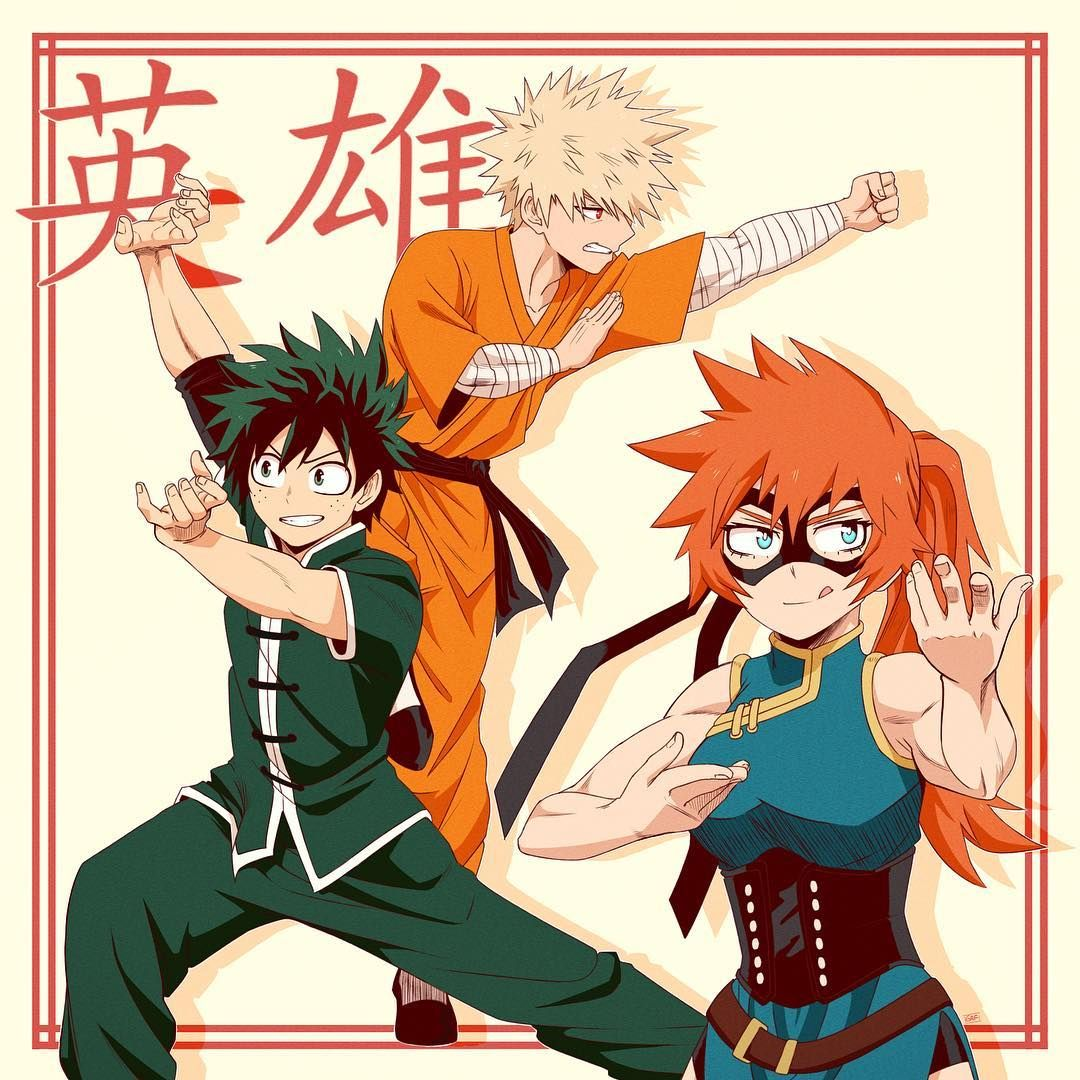 Gasper F On Instagram Itsuka Deku Katsuki Chinese Martial Arts A N If It Weren T For Ochako Itsu Chinese Martial Arts Martial Arts Anime Martial Arts