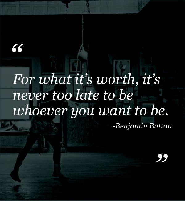 the curious case of benjamin button quotes - Google Search ...