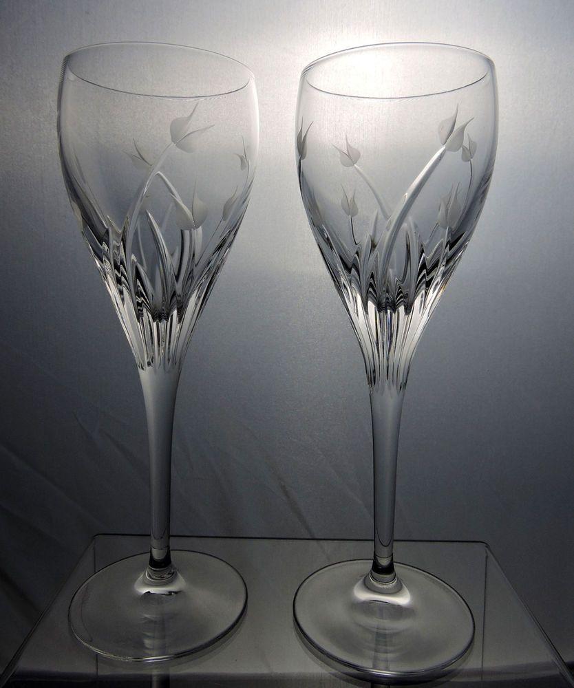 Da Vinci Pisa Crystal Wine Glasses Goblets Set Of 2 Wedding Toast Italy Crystal Wine Glasses Wine Glasses Red Wine Glasses