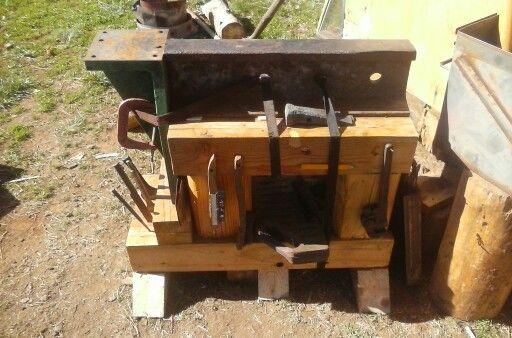 homemade anvil