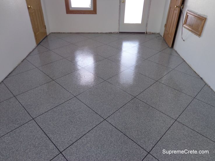 Decorative Concrete Epoxy Summer Kitchen New Haven In