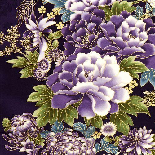 Asian Flower Print 70