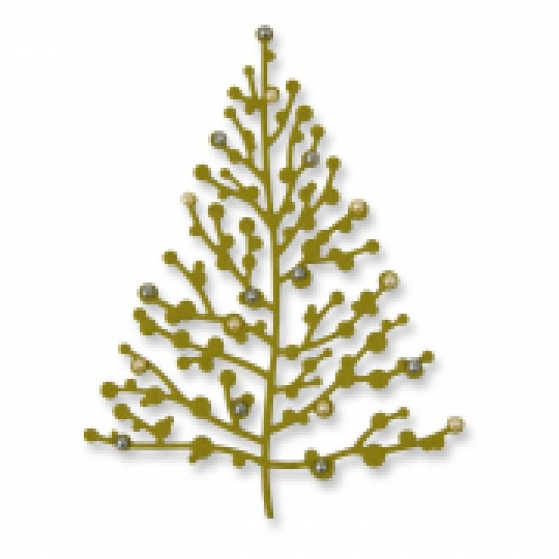 Sizzix Thinlits Die Treetops Glisten