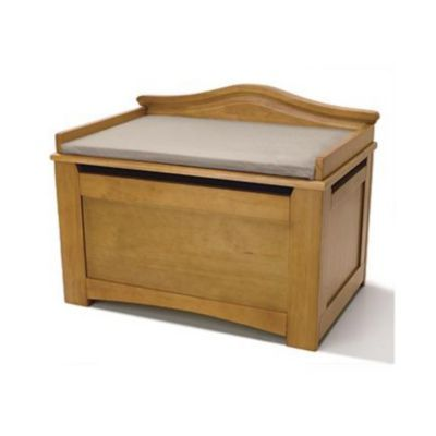 Stork Craft® Solid Wood Cushioned Toy Box - Sears | Sears Canada  sc 1 st  Pinterest & Stork Craft® Solid Wood Cushioned Toy Box - Sears | Sears Canada ... Aboutintivar.Com