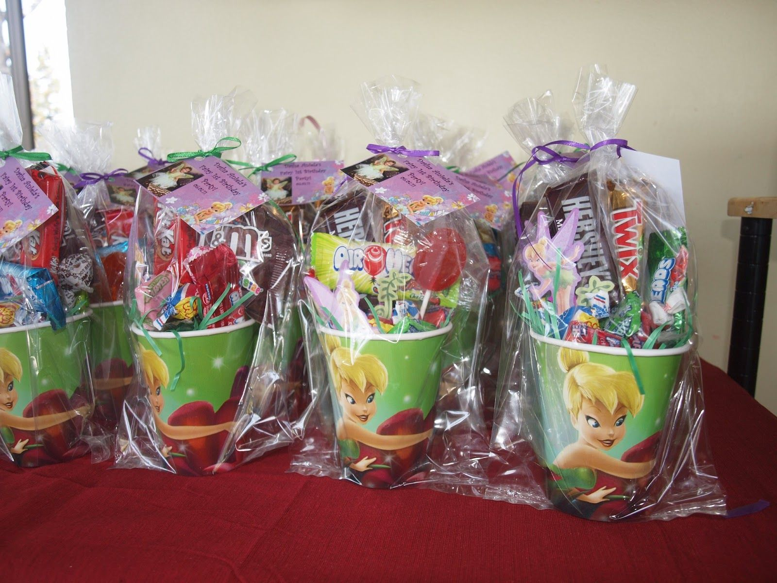 Tinkerbell Candy Bag Kisses And Crafts My Sweet Escape Themed