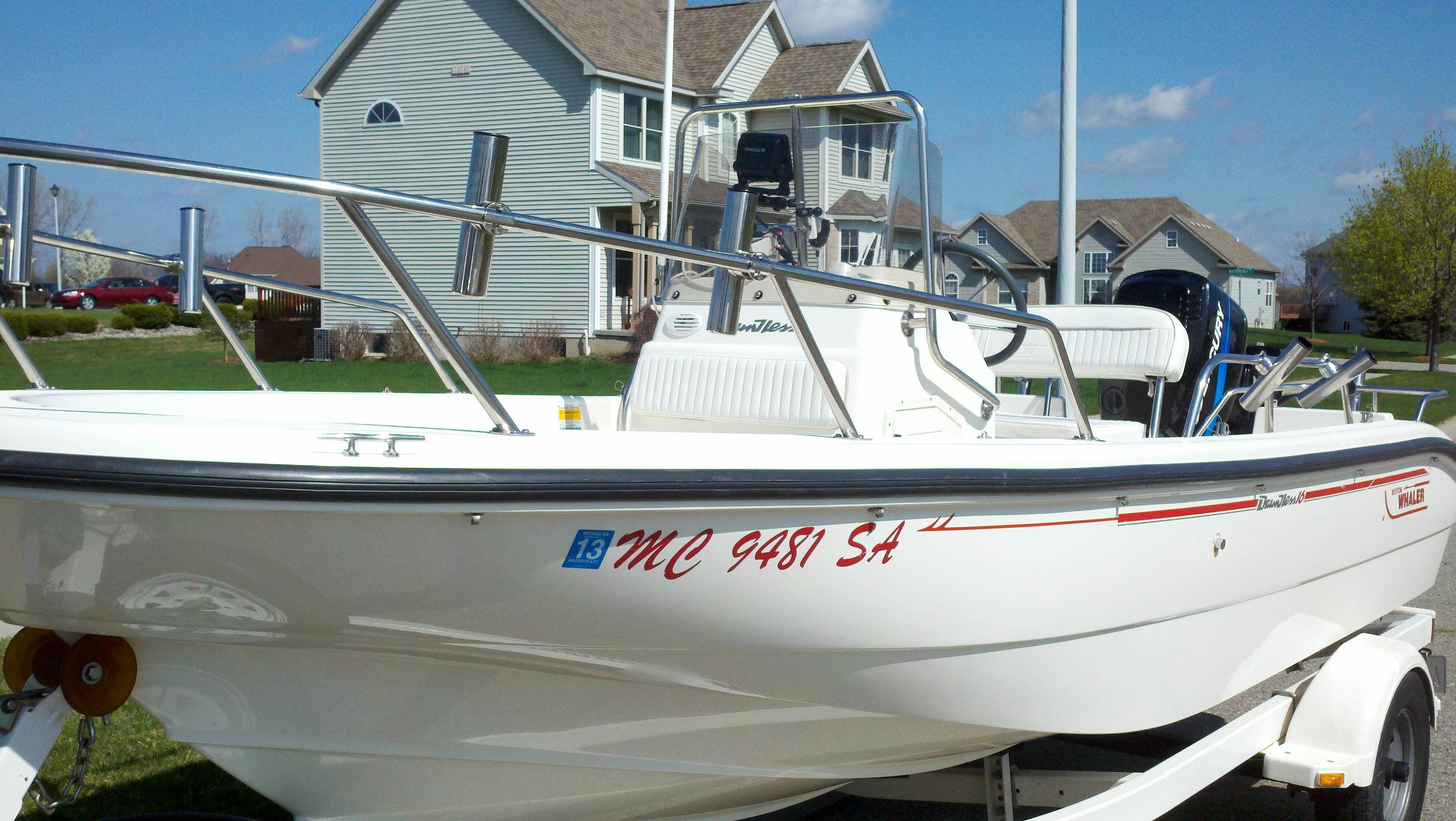 16' Boston Whaler - Dauntless - The Hull Truth - Boating and Fishing