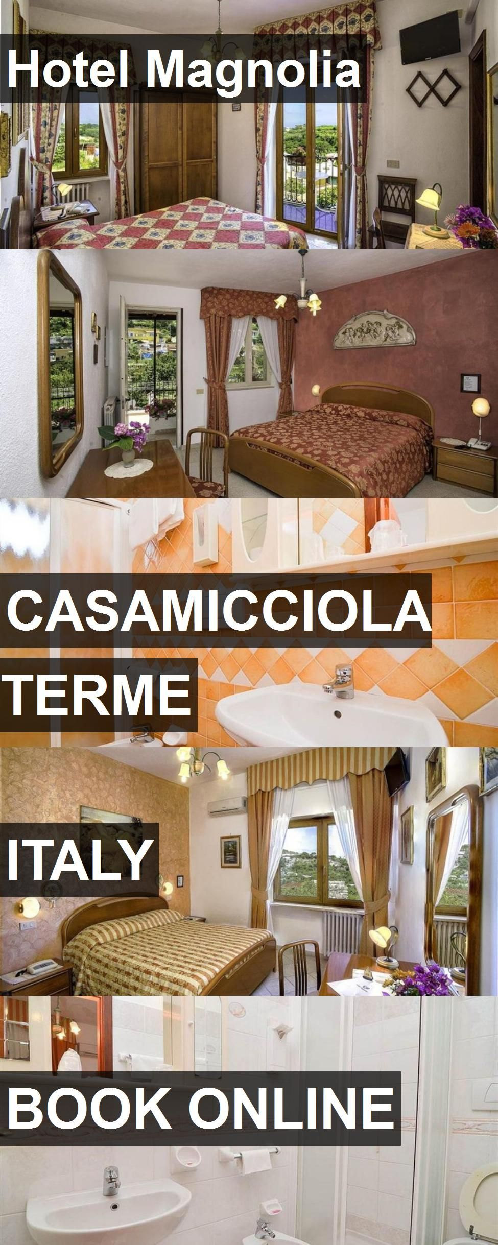 Hotel Magnolia in Casamicciola Terme, Italy. For more