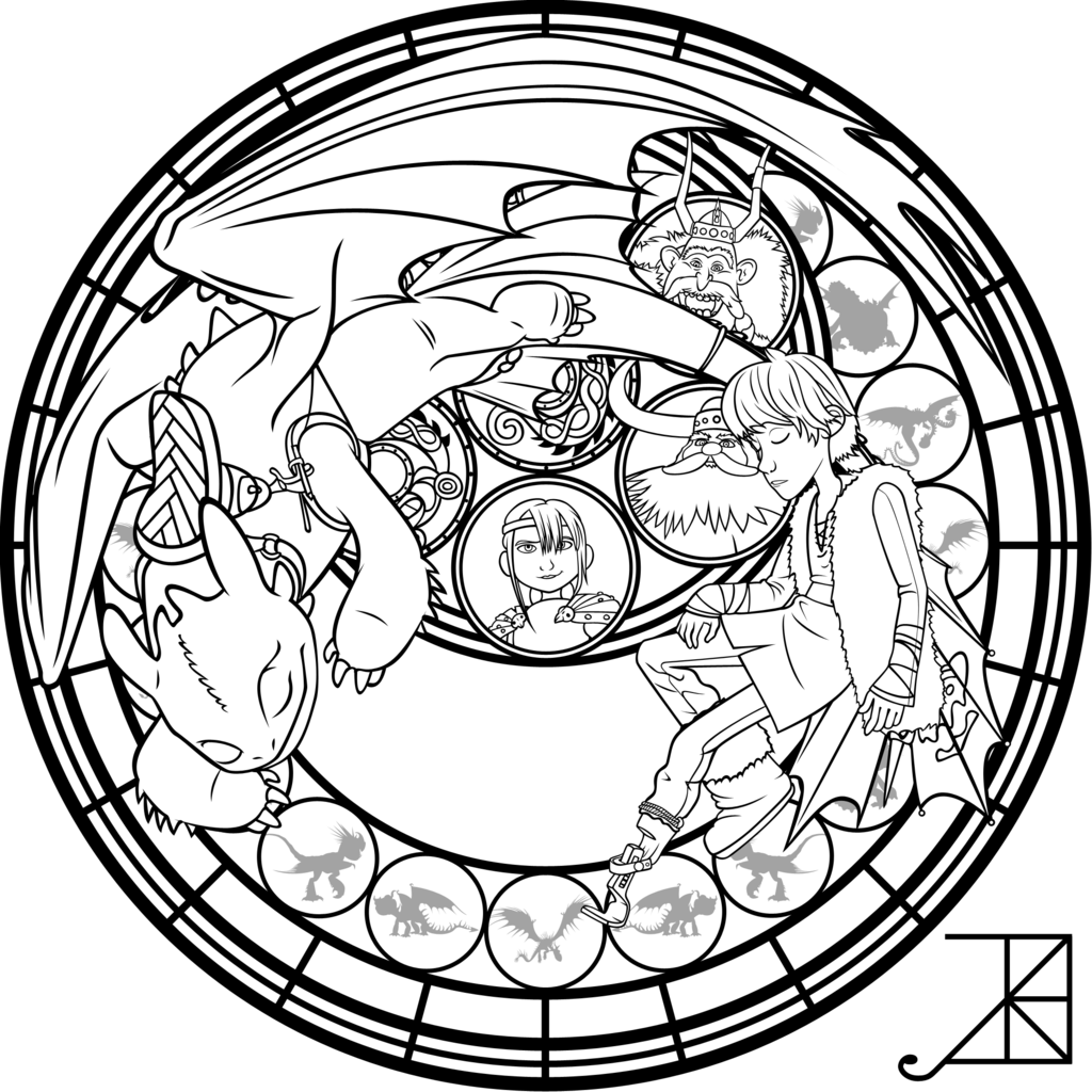SG: Hiccup: coloring page by Akili-Amethyst on DeviantArt