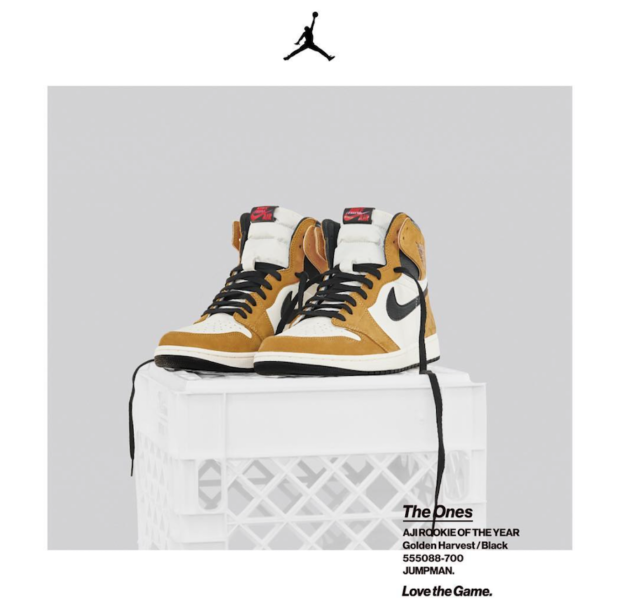 3049d8fb53b7 Who s Hyped For The Air Jordan 1 Retro High OG Rookie Of The Year ...
