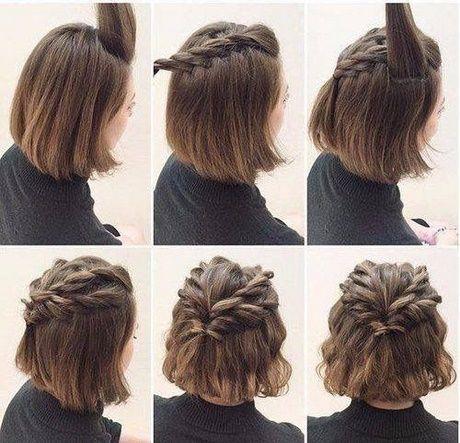 Einfache tägliche Frisuren für kurze Haare #homecominghairstyles