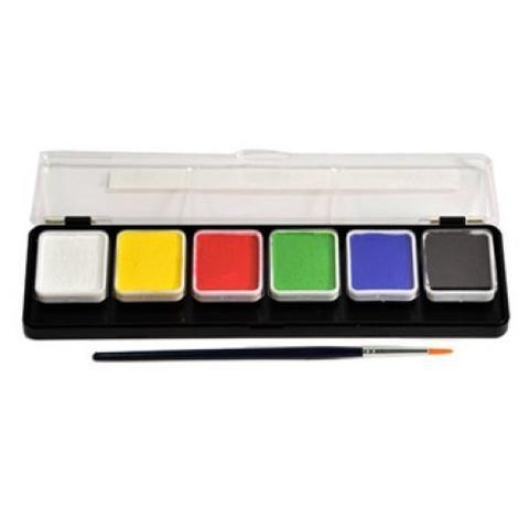 Face Paint 15 Wolfe Palettes Essentials 6 Colors Face