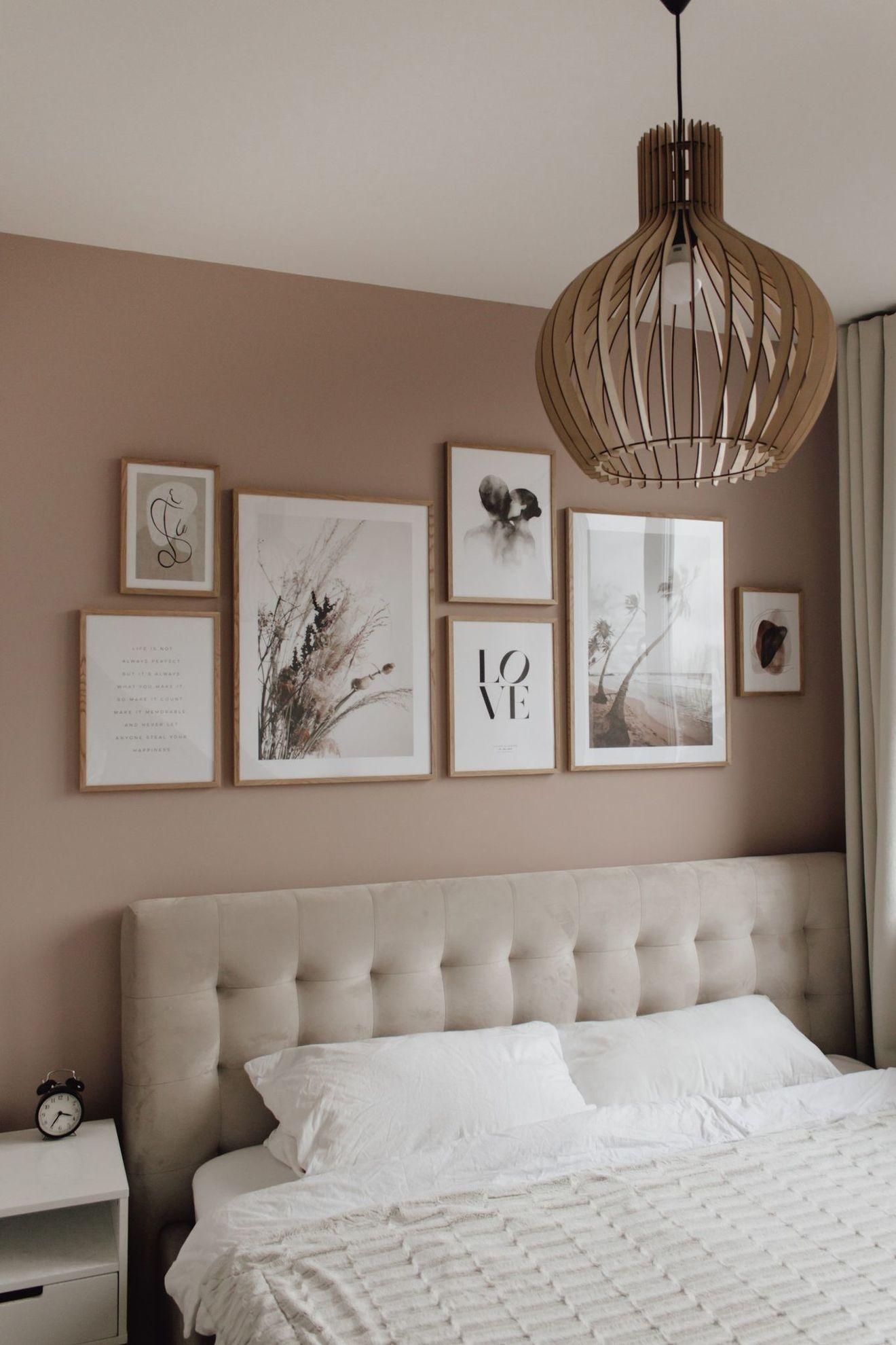 Peinture couleur taupe : inspirations pour la chambre à coucher