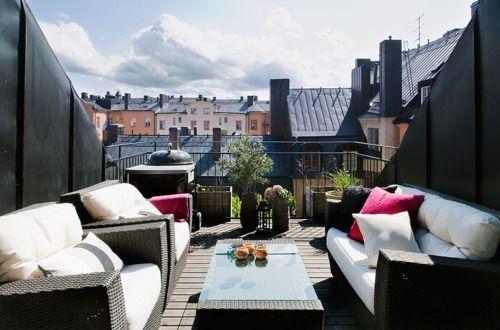 #rooftop #balcony #these #need #one #of,  #balcony #relaxingsummerporches #Rooftop #relaxingsummerporches