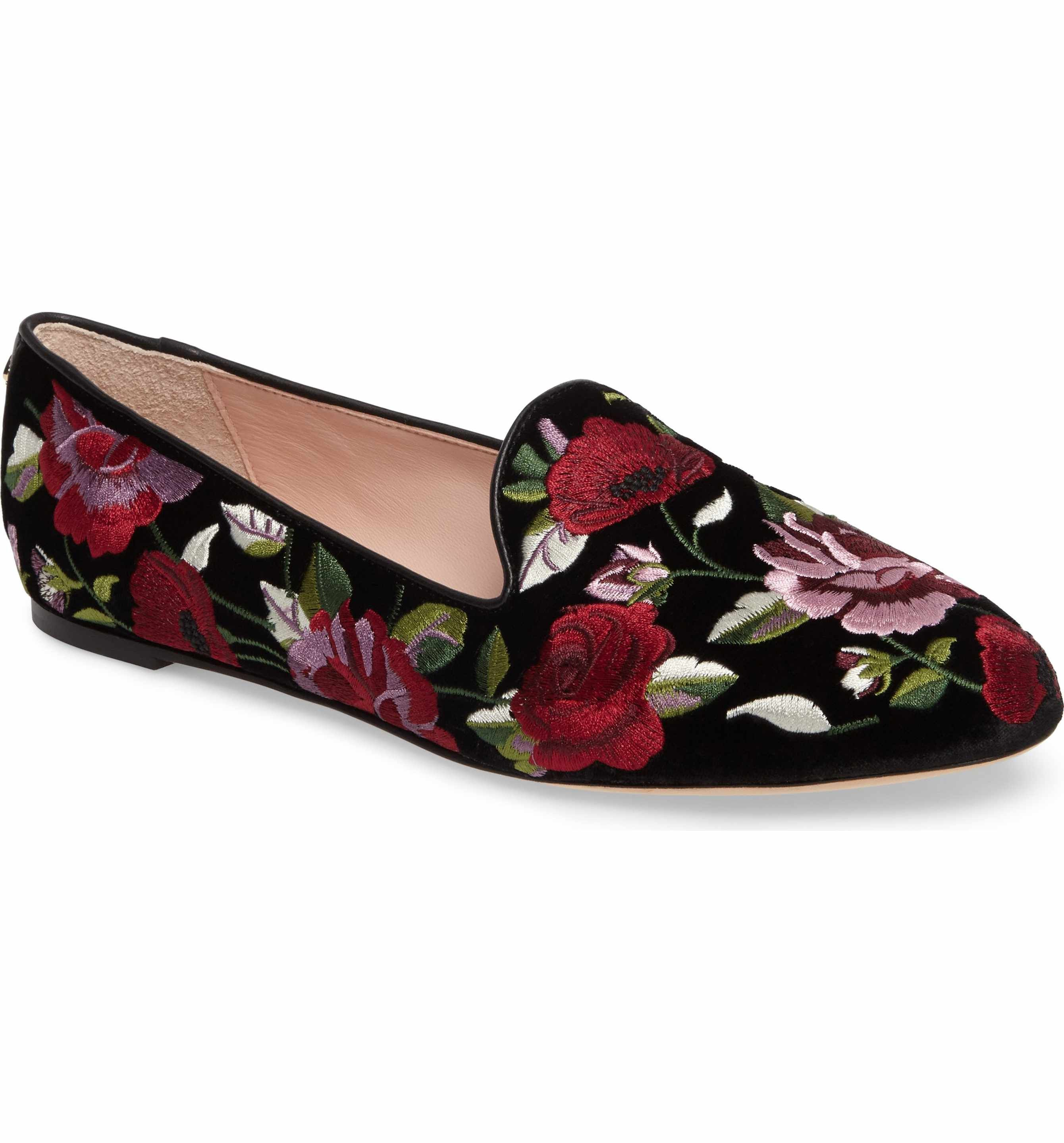 websites online cheap 2014 newest Kate Spade New York Floral Jacquard Loafers sneakernews online cheap price in China cheap wholesale price GObEKH